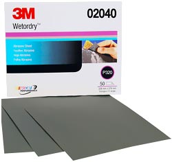3000 Grit Wet Sandpaper