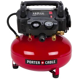 Porter Cable N087118sv Pump And Motor Assembly Top