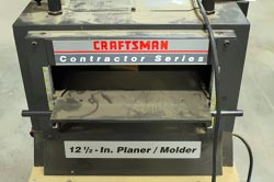 Craftsman Contractor Series Planer Molder