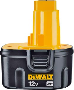 DEWALT DW9072 Battery Pack Replacement