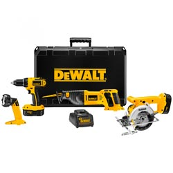 DEWALT 4 Tool Kit