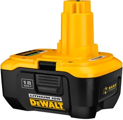 Dewalt 18V Li Ion Battery