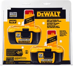 Dewalt 18V Lithium Ion Battery