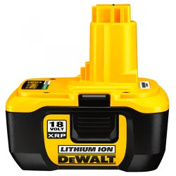 DEWALT 18 Volt Batteries 2 Pack