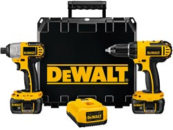 Dewalt Impact and Drill Combo