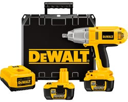 Dewalt Battery Operated Impact Wrench
