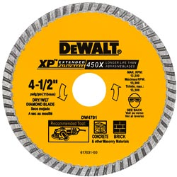 4 Concrete Cutting Blade