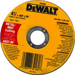DEWALT Cut Off Wheel SDS