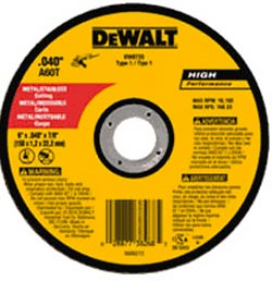 DEWALT Cutting Disc