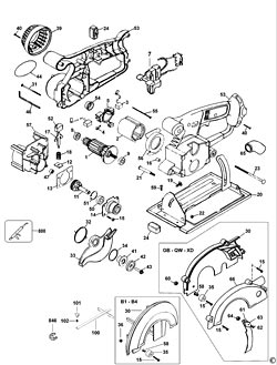 de walt motor wiring diagram dewalt dc9096 xrp 18-volt 2.4 amp hour nicd pod. dewalt ... #7