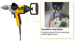 DEWALT Mixing Drill Hand Held