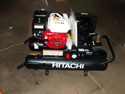 Hitachi Gas Air Compressor