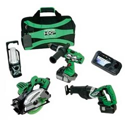 Hitachi Power Tools Combo Pack
