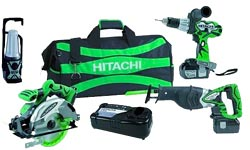 Hitachi Combo Set