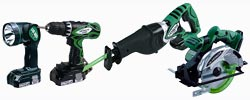 Hitachi Power Tool Kits