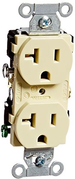 Hubbell 20 Amp Receptacle
