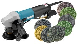 Variable Speed Angle Grinder Polisher